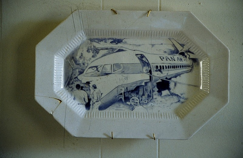 Pan Am Crash Plate
