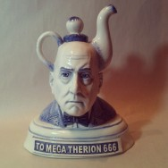 Aleister Crowley Teapot