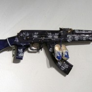 White on Blue AK47 Provencal