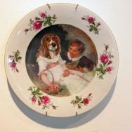 Dog-Faced Girl Plate