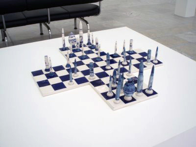 Laibach WAT Chess Set