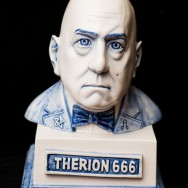Aleister Crowley Bust