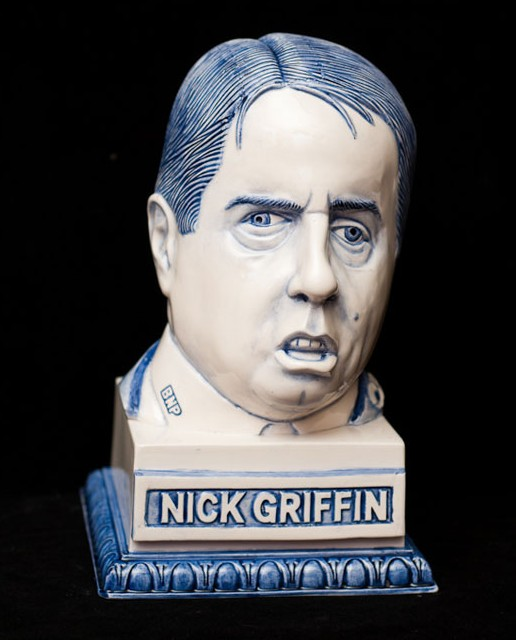 Nick Griffin Bust