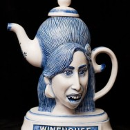 Amy Winehouse Teapot