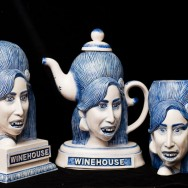 Amy Winehouse Bust, Teapot & Mug