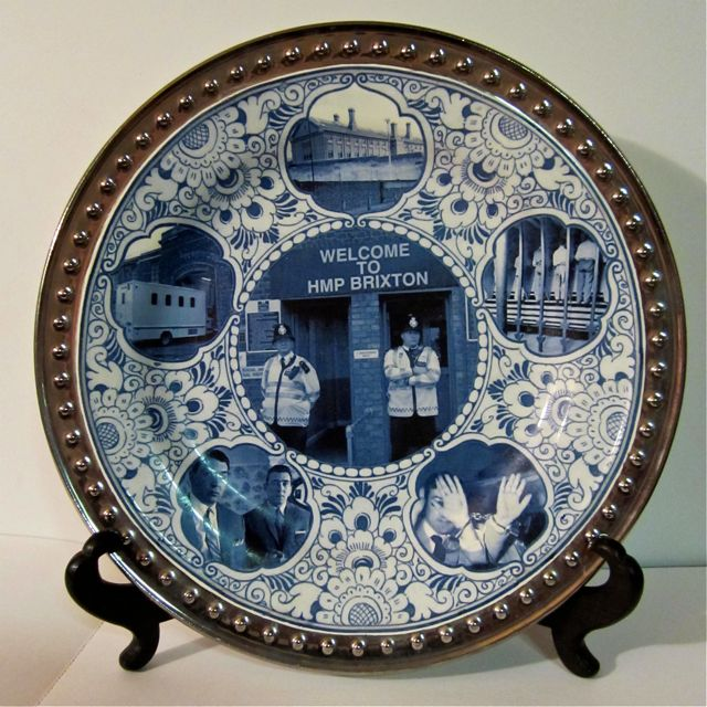 Porcelain Penitentiary Plate Series Brixton