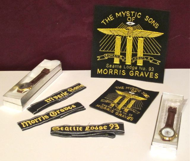 Mystic Sons of Morris Graves Seattle Lodge 93 swag